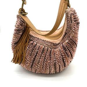 Diane Von Furstenberg Stephanie Metallic Hobo Bag